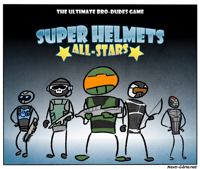 Super Helmets All-Stars